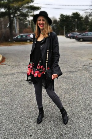 faux leather Miss Sixty jacket - sam edelman boots