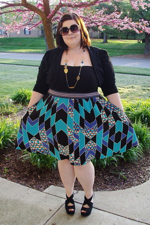 black Target dress