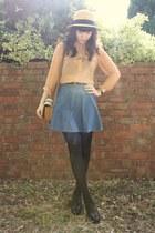 Topshop blouse - asos skirt