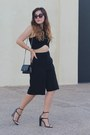 Black-woc-chanel-bag-black-culotte-forever-21-shorts-black-cropped-zara-top