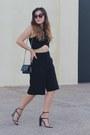 Black-woc-chanel-bag-black-culotte-forever-21-shorts-black-cropped-zara-top