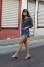 Light-pink-cut-out-shellys-london-boots-navy-diy-vintage-shorts