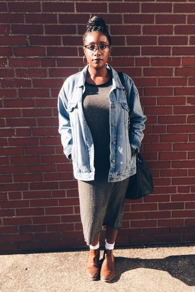 denim jacket Old Navy jacket - ankle boots asos shoes
