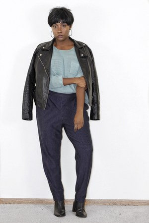 leather Zara jacket