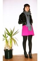 American Apparel dress - H&M jacket