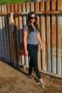 Black-skinny-forever-21-jeans-tawny-bucket-thrifted-vintage-bag