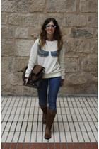 Pepe Jeans sweatshirt - Levis boots - Levis jeans - Tommy Hilfiger shirt