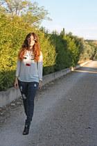 NB Sport blouse - nolita jeans - nice things bag