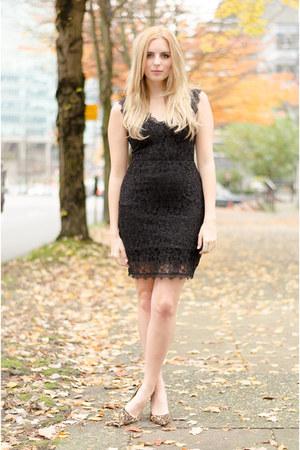 black lace dress Bootlegger dress