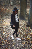 H&M coat - H&M hat - Urban Outfitters bag - Converse sneakers