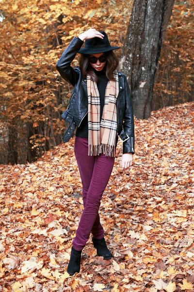 H&M hat - Zara boots - H&M jacket - H&M pants