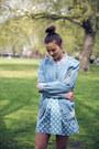 Blue-the-whitepepper-dress-blue-the-whitepepper-jacket