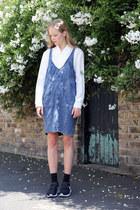 THE WHITEPEPPER blouse - THE WHITEPEPPER dress - THE WHITEPEPPER socks
