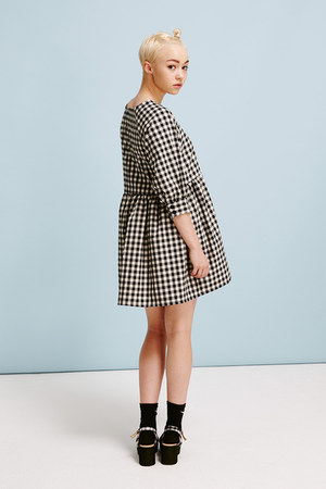 THE WHITEPEPPER dress - - Models Own socks - - Models Own sandals