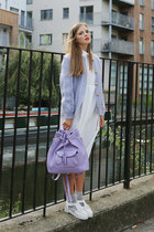 THE WHITEPEPPER bag - THE WHITEPEPPER dress - THE WHITEPEPPER flats