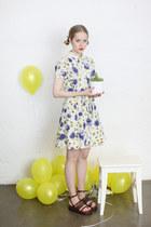 Floral tea dress