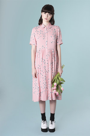 pink THE WHITEPEPPER dress
