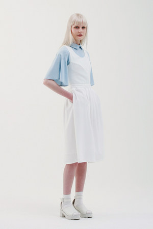 THE WHITEPEPPER dress - THE WHITEPEPPER jacket - THE WHITEPEPPER socks