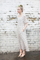 polka dot THE WHITEPEPPER dress