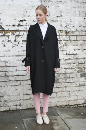 black THE WHITEPEPPER coat