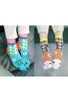 animal socks THE WHITEPEPPER socks