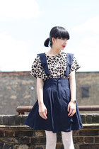 Navy-the-whitepepper-dress