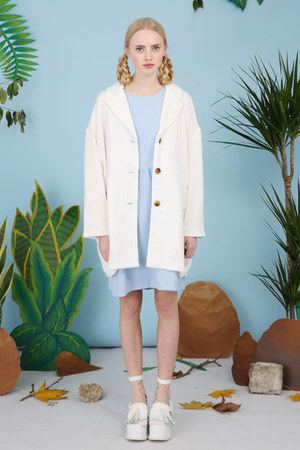 ivory THE WHITEPEPPER coat