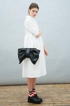 bow clutch bag THE WHITEPEPPER bag - THE WHITEPEPPER shoes