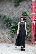 Black-chiffon-the-whitepepper-dress