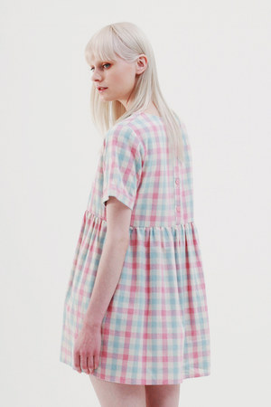 pink THE WHITEPEPPER dress - white THE WHITEPEPPER shoes