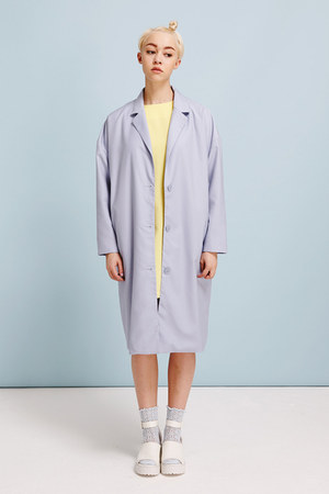 sky blue THE WHITEPEPPER coat - sky blue THE WHITEPEPPER coat