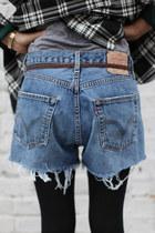 Denim Shorts THE WHITEPEPPER Shorts