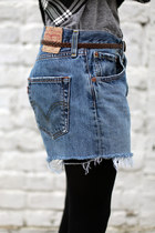 Denim Shorts THE WHITEPEPPER Shorts