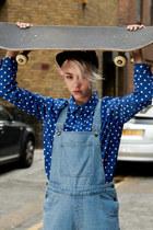 blue THE WHITEPEPPER blouse - sky blue THE WHITEPEPPER jeans