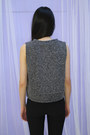 Charcoal-gray-crop-top-mixed-colour-crop-top-vest