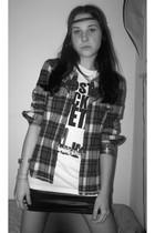 skirt - t-shirt - shirt