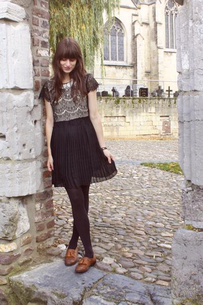 black miss patina dress