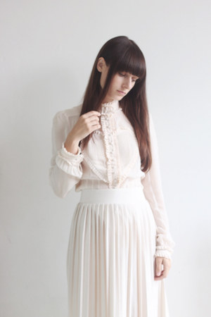 neutral viktor & rolf for h&m blouse - neutral Primark skirt
