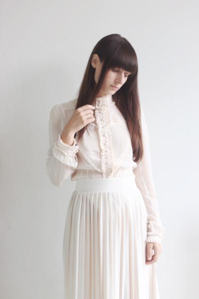 neutral viktor & rolf for h&m blouse - neutral Primark skirt