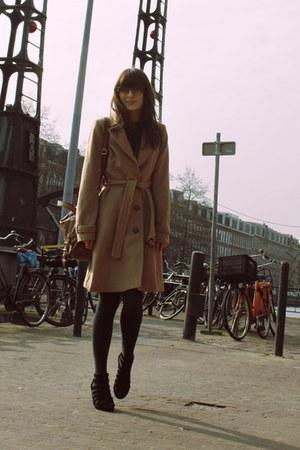 H&M shoes - H&M coat - H&M sunglasses