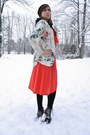 Black-spike-lita-jeffrey-campbell-boots-coral-vintage-dress-vintage-dress