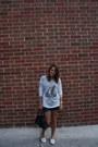White-sailing-shirt-thrifted-vintage-top-black-tommy-hilfiger-bag
