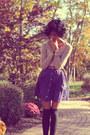 Dsw-boots-american-eagle-sweater-forever-21-socks-target-skirt