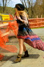 Steve-madden-boots-ebay-dress-brandy-la-sweater-fringe-forever-21-vest