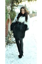 asos heels - vintage coat