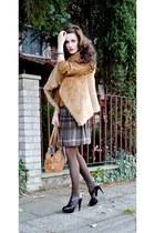 Rinascimento skirt - Xyde bag - Zara heels - Zara vest - benetton jumper