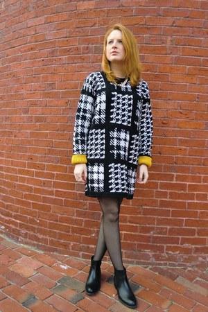 calvin klein coat - vintage dress