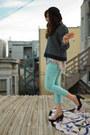 Black-pumps-heels-john-fluevog-shoes-sky-blue-pastel-cropped-free-people-jeans