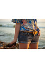 Hawaiian-vintage-shirt-cut-off-forever21-shorts-leather-vintage-belt
