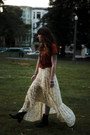 Ankle-frye-boots-maxi-free-people-dress-graphic-zara-t-shirt